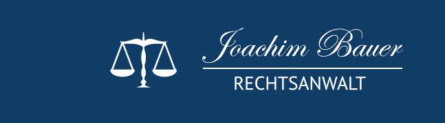 Rechtsanwalt Lübz Joachim Bauer